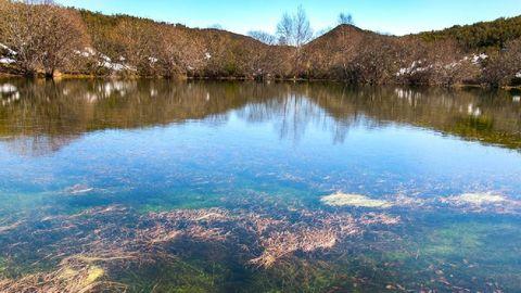 La laguna de Lucenza es una de las huellas que dejaron los glaciares prehistóricos en la sierra de O Courel