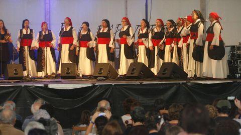 Fotografía de archivo de una de las últimas convocatorias del festival As Cores do Outono, en A Pobra do Brollón