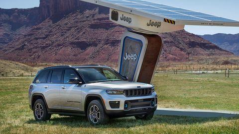 El nuevo Gran Cherokee de Jeep cuenta con una versión híbrida enchufable