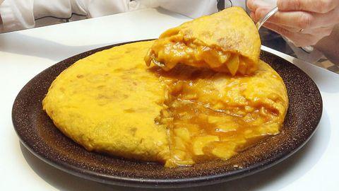 Tortilla de Betanzos.