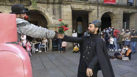 Espectáculo durante el festival Galicreques en la edición de 2020.