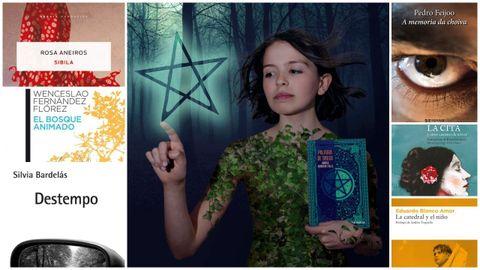 Algunos de los títulos elegidos este otoño por libreros y lectores e «influencers» gallegos.