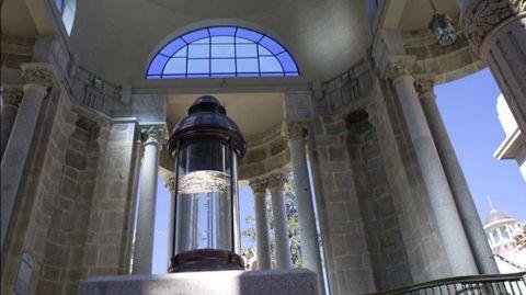 Templete de la fuente de  Gándara en Mondariz-Balneario