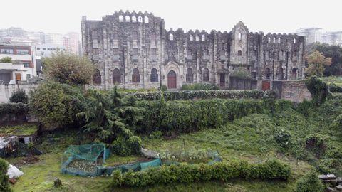 Convento de las Salesas Reales, en las Coutadas, en el barrio de Teis