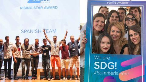 Parte del equipo español de SDG Group