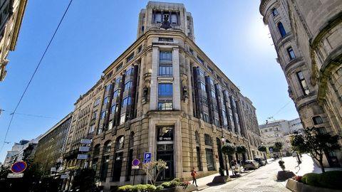 Edificio Banca Viñas, en Vigo