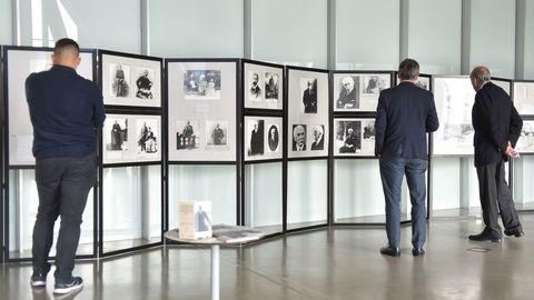Exposición sobre Pierre de Coubertin en el Ágora de A Coruña