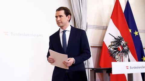 Sebastian Kurz dimitió el pasado sábado por un escándalo de corrupción.