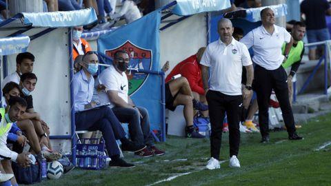 Partido entre el Boiro y el Atlético Arteixo 2021