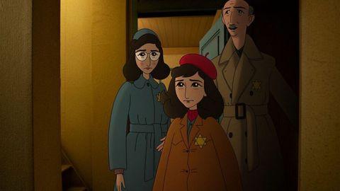Ari Folman relata desde la animación la historia de Anna Frank.