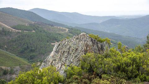 El parque eólico limitaría con el municipio de Ribas del Sil, al que corresponde la foto