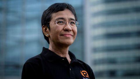 María Ressa, Premio Nobel de la Paz 2021