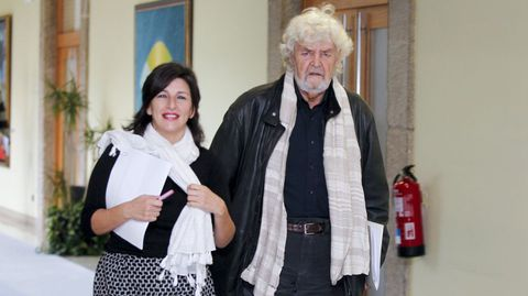 Yolanda Díaz y Beiras, en una imagen de archivo.