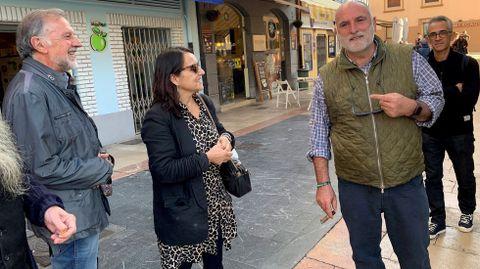 José Andrés, ayer en El Fontán, en Oviedo