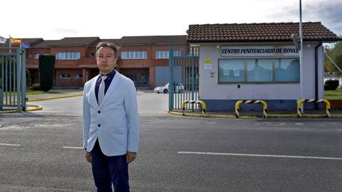 José Manuel Pernás, director del Centro Penitenciario de Bonxe.