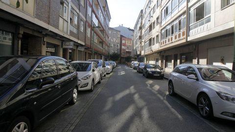 La agresión se produjo en la calle Fariña Ferreño