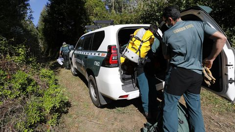 Operativo de búsqueda de la mujer desaparecida en Fazouro, Foz