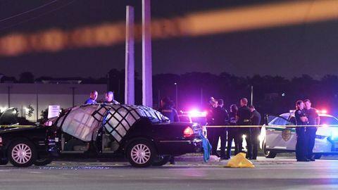 Escenario de un tiroteo en Estados Unidos, en una imagen de archivo