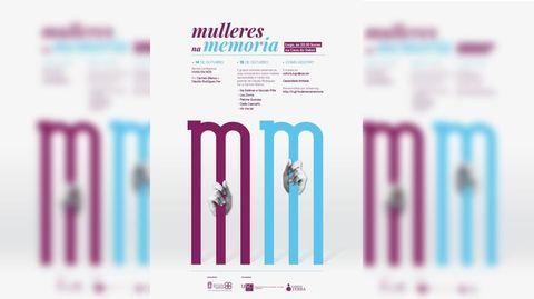 Cartel del proyecto  Mulleres na memoria