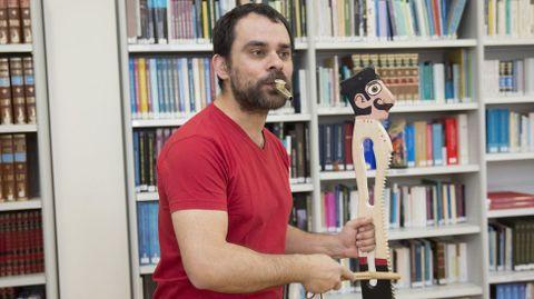 Inacio Vilariño actuará en el MIHL con «Espantamedos»