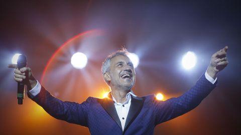 Sergio Dalma ofrecerá dos conciertos este sábado 16 en A Coruña.