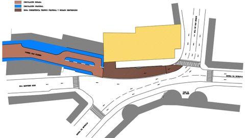 El proyecto de urbanización aprobado por el Concello de Lugo