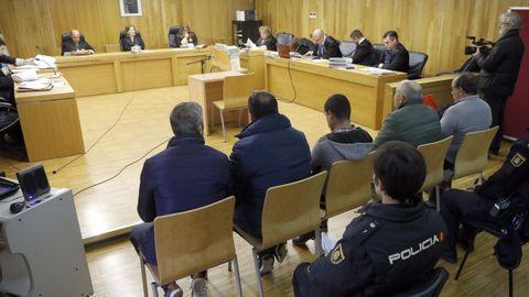 La vista del juicio, celebrado en la Audiencia Provincial de Lugo el 19 de octubre del 2010.