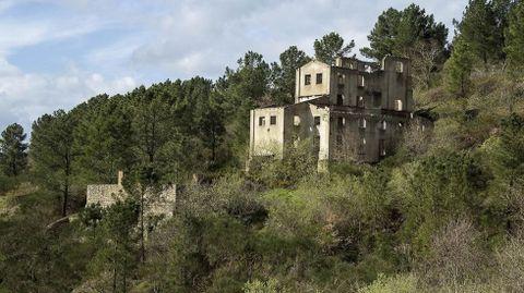 Edificios de la explotación minera activa hasta el final de la Segunda Guerra Mundial