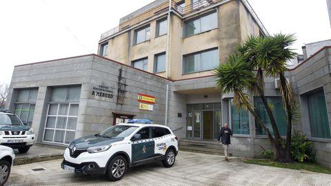 La Guardia Civil funciona en Cambados de forma provisional desde el edificio de A Merced