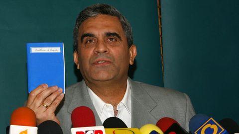 Raúl Baduel en una imagen del 2007