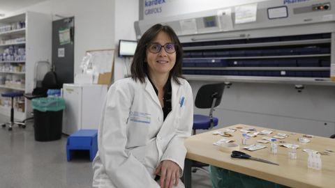 La farmacéutica del CHUO es delegada de la Sociedad Española de Farmacia Hospitalaria en Galicia