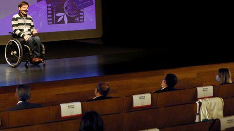 Inauguración de la pasada edición del Festival de Cine Inclusivo de Vigo.