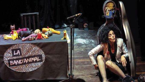Paula Malik llevará su espectáculo, Banda Animal, a Barbadás y a Ourense.