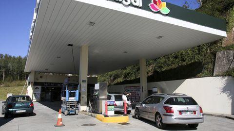 La gasolinera de Laraxe fue atracada esta semana