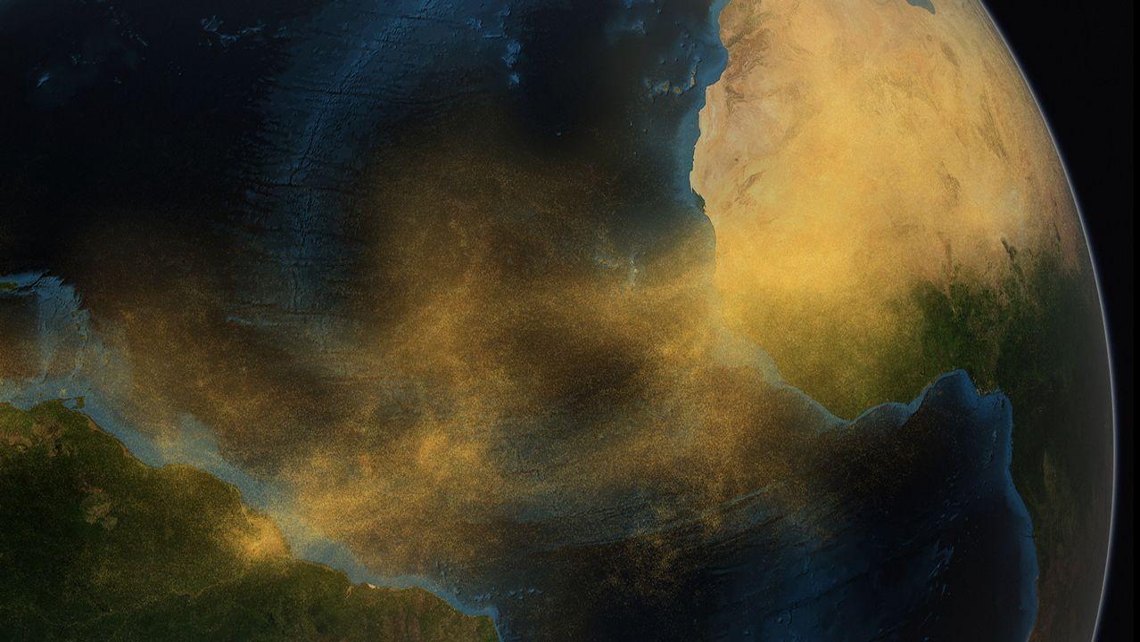 Cada año cientos de toneladas de polvo del Sáhara atraviesan el Atlántico y terminan en el AmazonasCada año cientos de toneladas de polvo del Sáhara atraviesan el Atlántico y terminan en el Amazonas