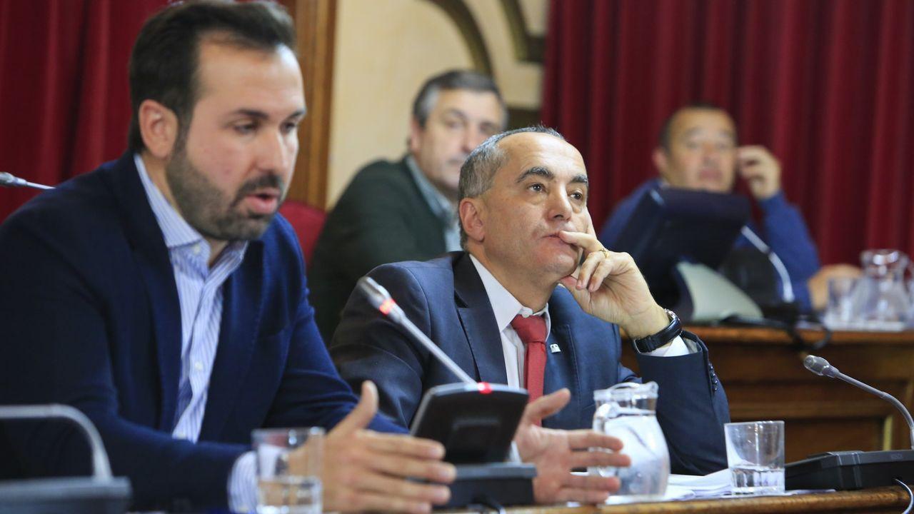 Antonio Ameijide y Ramón Carballo