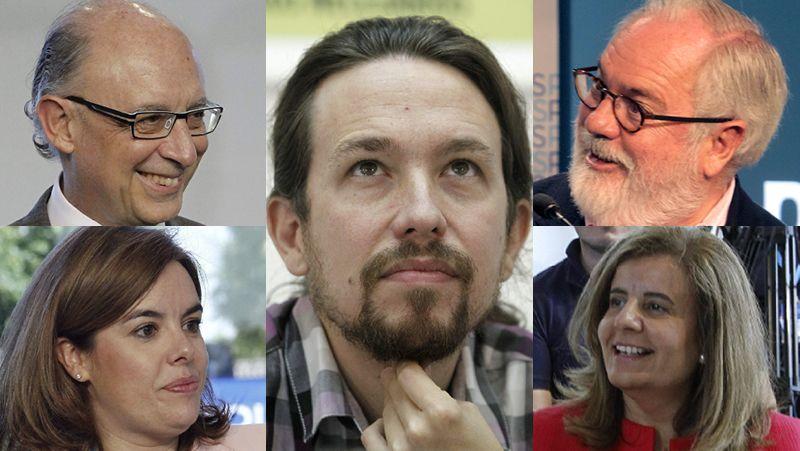 El PP contra Podemos
