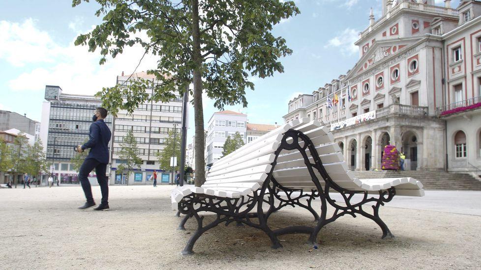 Los nuevos asientos serán muy similares a los que ya se encuentran actualmente en la plaza