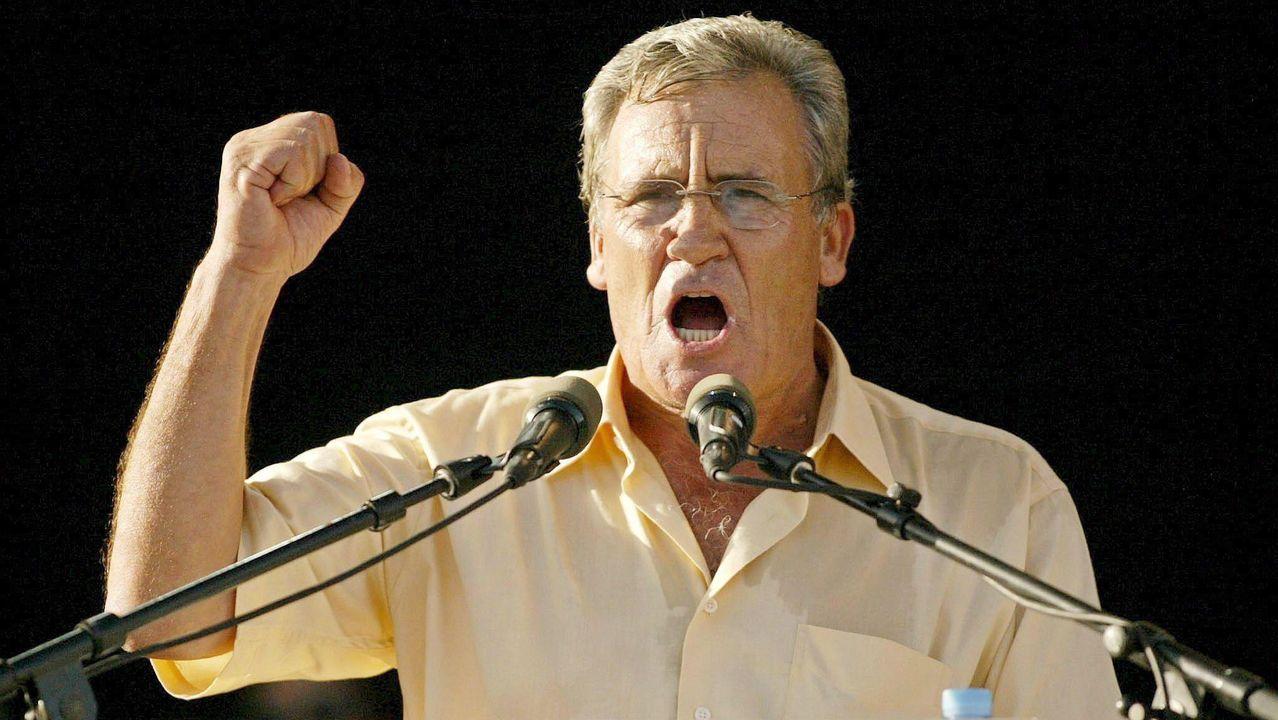 El secretario general del Partido Comunista Portugués (PCP), Jerónimo de Sousa