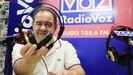 Félix Jorquera en los estudios de RadioVoz Lugo