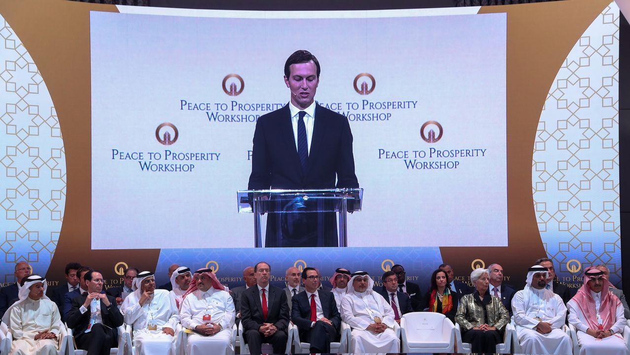 Kushner, asesor y yerno de Trump, abrió  el controvertido foro económico «Prosperidad para la Paz» en Baréin