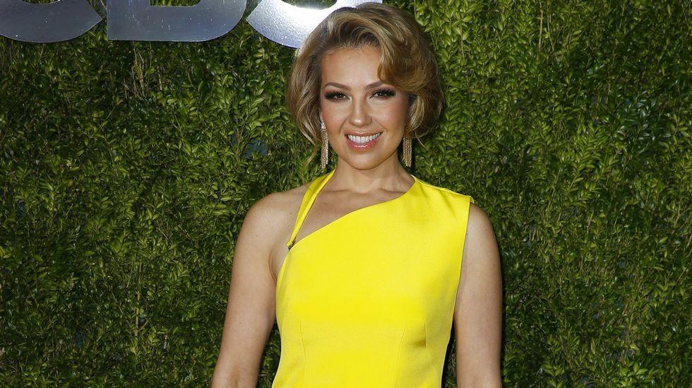 La cantante mexicana Thalía.