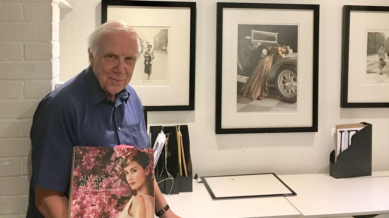 Terence Pepper, comisario de la exposición de Norman Parkinson