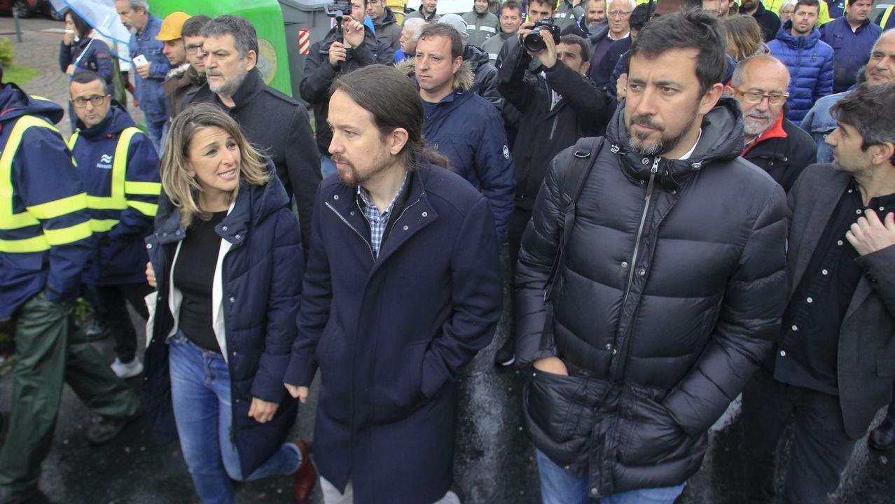 Adrián Barbón llama a ganar las elecciones en un mitin organizado antes del 26-M