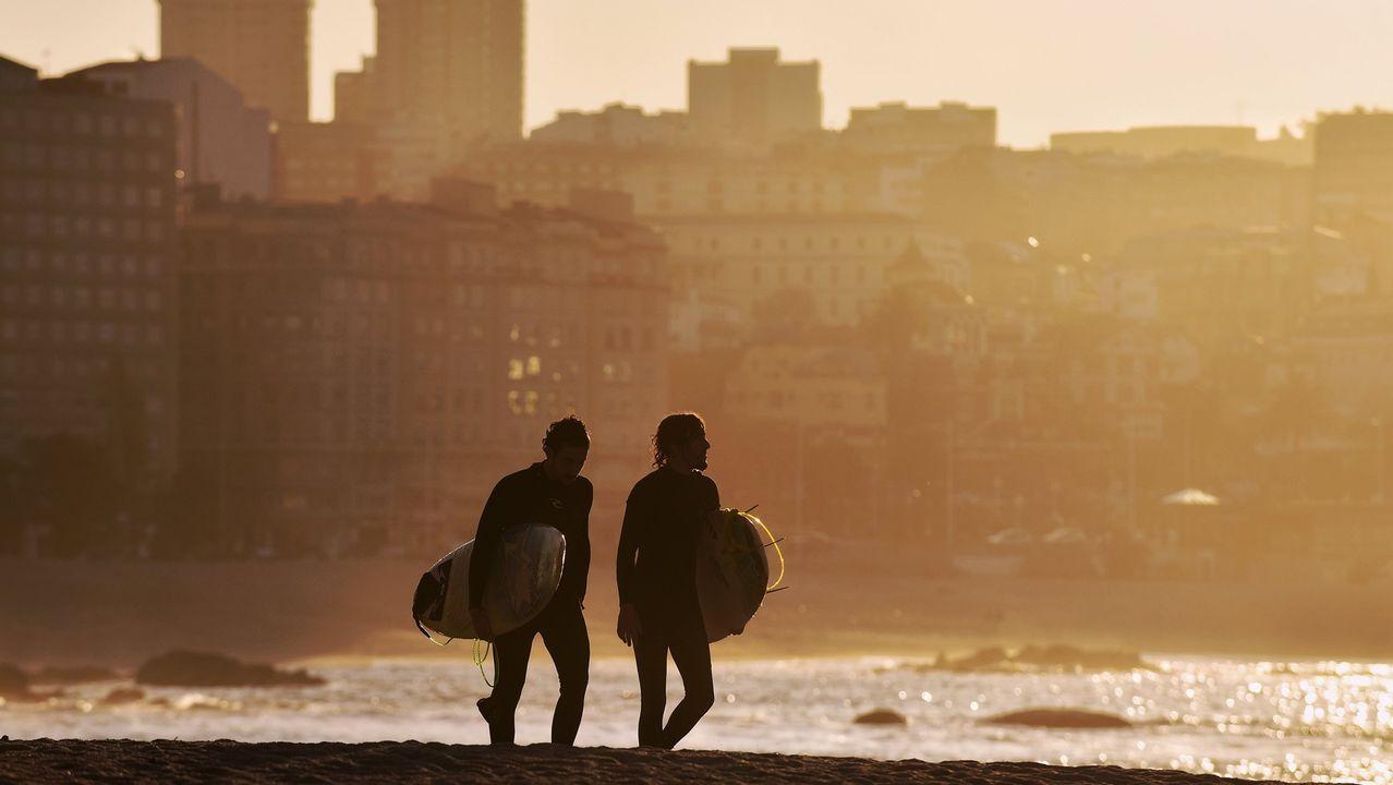 Surf a pie de calle.