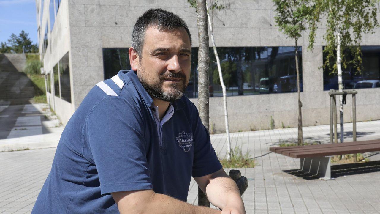 La borrasca Gisele descargó con fuerza en Compostela y comarca