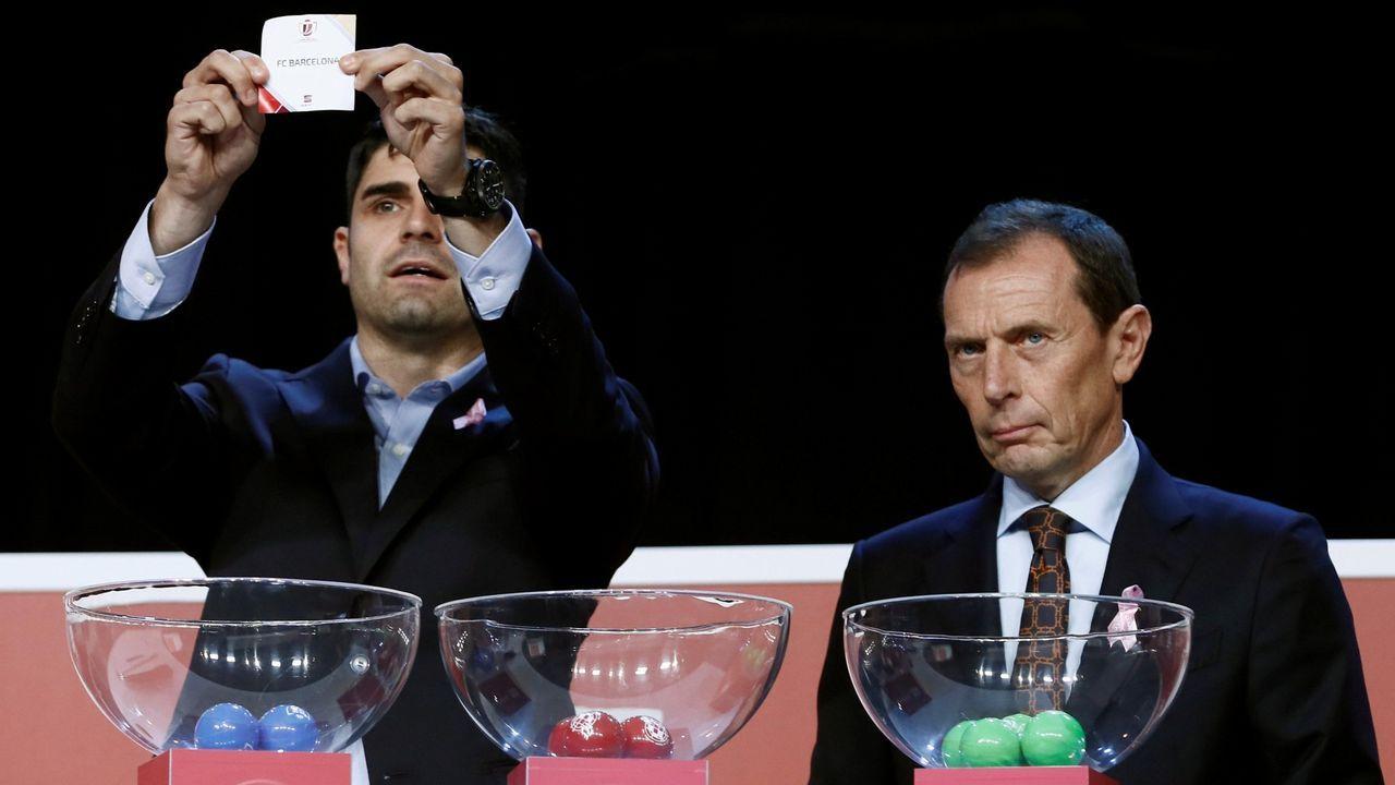 EN DIRECTO: Sorteo de la Copa del Rey.El presidente del Levante, Quico Catalan, amenazó con acudir a la justicia ordinaria