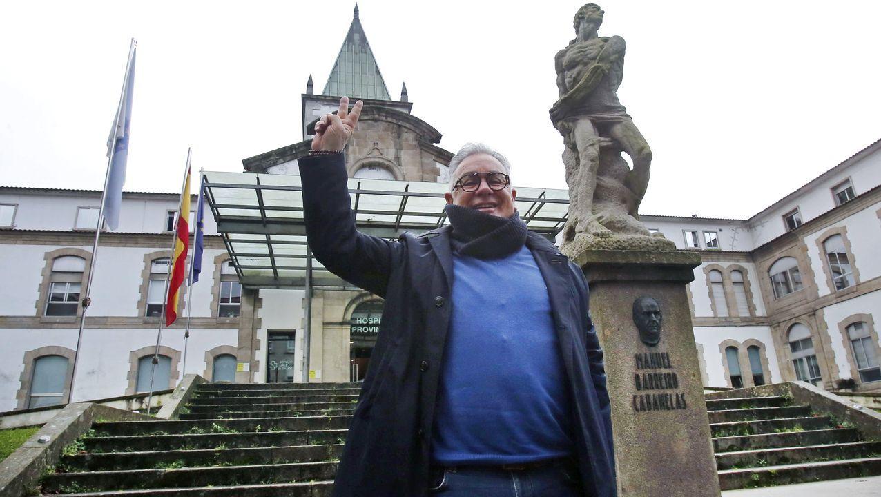 Principales propiedades del Estado en Galicia.Margaret Keenan, el pasado 8 de diciembre tras haber recibido la primera de las dos dosis de la vacuna