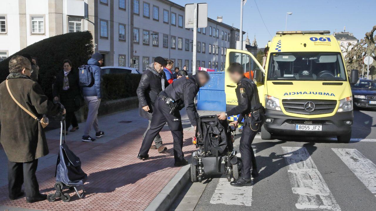 ÁLBUM: La ruta da Marronda en imágenes.Así transcurrió la primera mañana de rebajas en Lugo