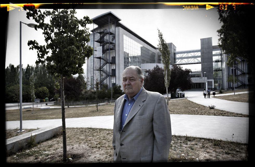 Luis Rodríguez Ennes fundó la facultad de Derecho del campus en los años noventa.